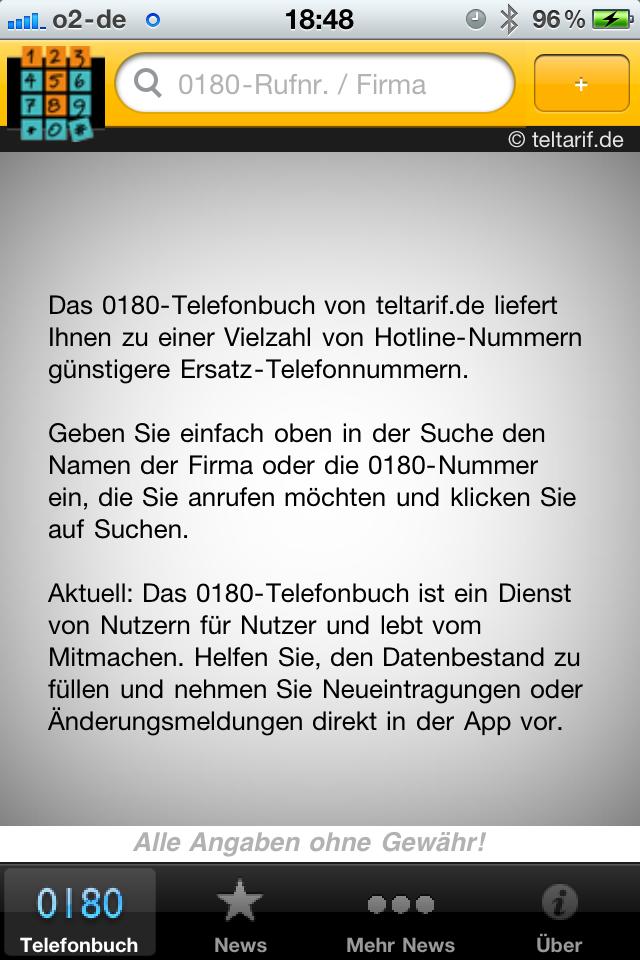 Teure Telefonnummern