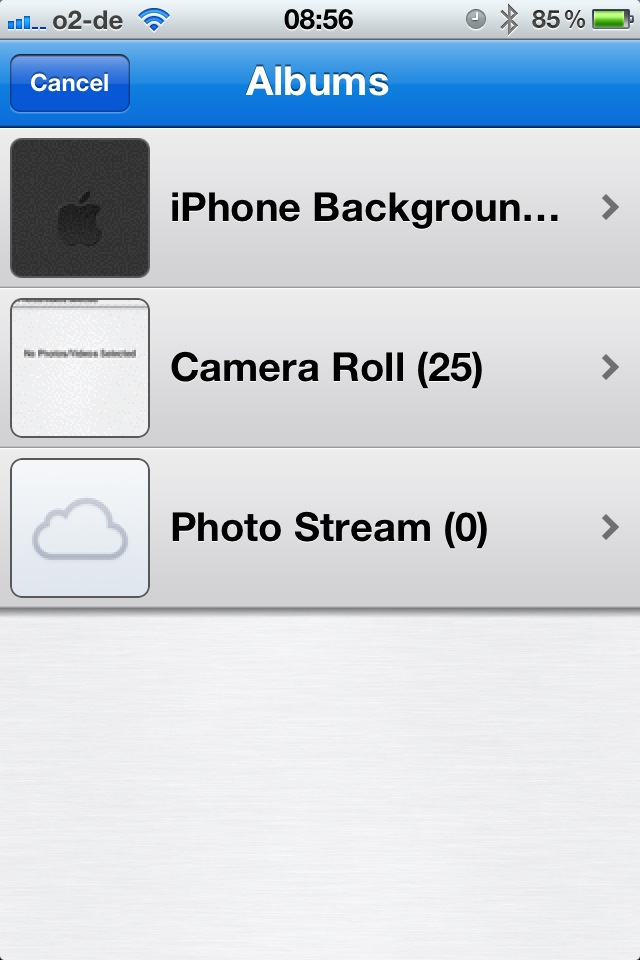 how to move photos from dropbox to camera roll