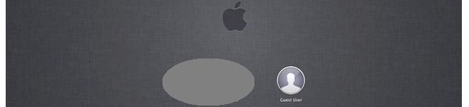 Login Screen Mountain Lion