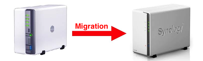 Synology NAS Migration